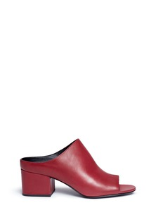 3.1 Phillip Lim 'Cube' leather mules