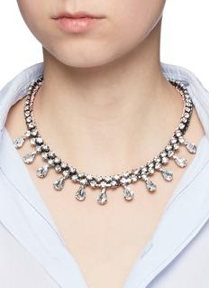 Venessa Arizaga'Eiko' rhinestone necklace