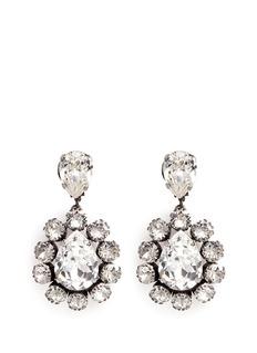 Venessa Arizaga'Natural Mystic' Swarovski crystal earrings
