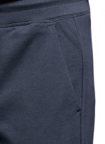 Cotton French terry sweatpants