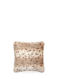EtroAberdeen Moclips small faux fur cushion