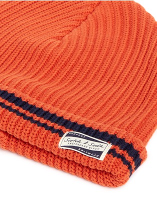 Detail View - Click To Enlarge - Scotch & Soda - Cotton beanie