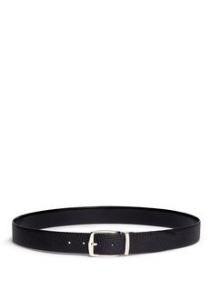 ISAIAReversible pebbled leather belt