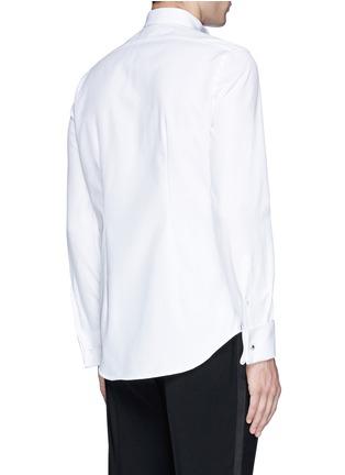 背面 - 点击放大 - LARDINI - 单色纯棉礼服衬衫