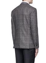 Python mélange lambswool soft blazer