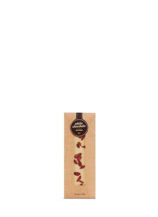 Main View - Click To Enlarge - Nicolas Vahé - Goji berry white chocolate 50g