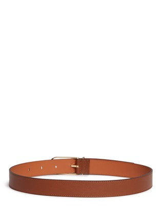 Back View - Click To Enlarge - Maison Boinet - Cowhide leather belt