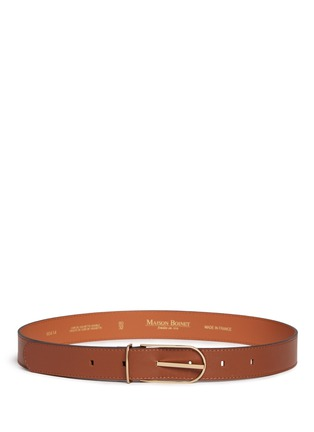 Main View - Click To Enlarge - Maison Boinet - Cowhide leather belt