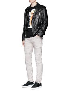 Neil BarrettAcid bleach skinny jeans