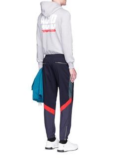 Tim Coppens'ACID' print cotton hoodie
