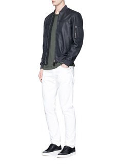 COVERT Leather bomber jacket