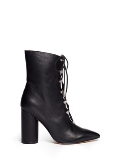 Sigerson Morrison 'Knight' lace-up leather boots