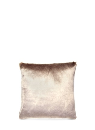 Main View - Click To Enlarge - Etro - Velair Moreau large faux fur cushion
