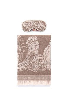 Etro Knossos Minosse wool-cashmere paisley jacquard travel throw