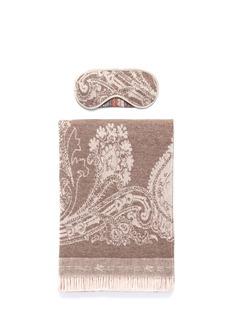 EtroKnossos Minosse wool-cashmere paisley jacquard travel throw