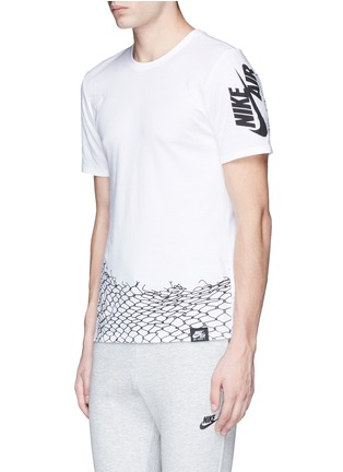 Front View - Click To Enlarge - Nike - 'Nike Air Chain Fence' print T-shirt