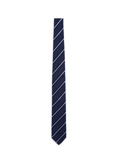 Lardini Regimental stripe silk tie