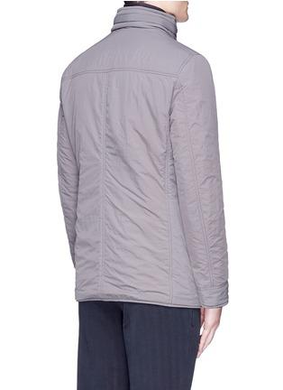 Back View - Click To Enlarge - Lardini - Reversible field jacket blazer