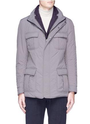 Main View - Click To Enlarge - Lardini - Reversible field jacket blazer