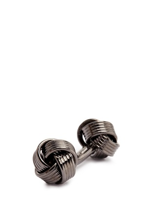 Detail View - Click To Enlarge - Babette Wasserman - Knot cufflinks