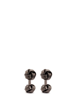 Main View - Click To Enlarge - Babette Wasserman - Knot cufflinks