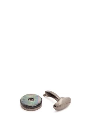 Detail View - Click To Enlarge - Babette Wasserman - 'Tourbillion' reversible cufflinks