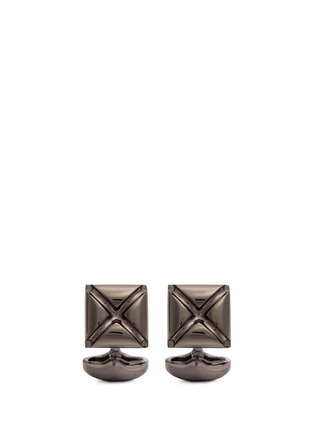 Main View - Click To Enlarge - Babette Wasserman - Origami star cufflinks