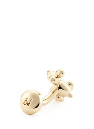 Babette Wasserman - Balloon rabbit cufflinks