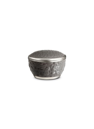 首图 –点击放大 - L'OBJET - 鳄鱼纹圆形连盖瓷盒