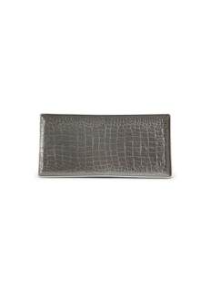 L'Objet Crocodile rectangle tray
