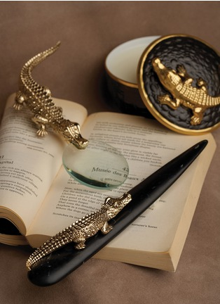 - L'Objet - Crocodile letter opener