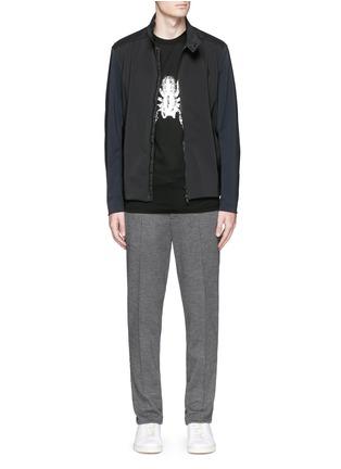 模特儿示范图 - 点击放大 - LANVIN - 蜘蛛图案纯棉T恤