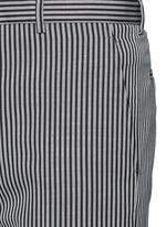 Stripe wool twill pants