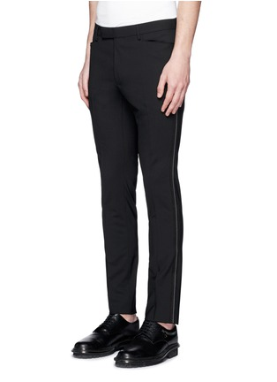 Front View - Click To Enlarge - Lanvin - 'D8' stitch seam wool slim pants