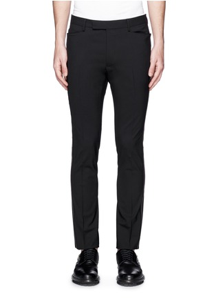 Main View - Click To Enlarge - Lanvin - 'D8' stitch seam wool slim pants