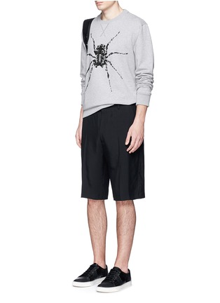 Figure View - Click To Enlarge - Lanvin - Sequin spider embroidery sweatshirt