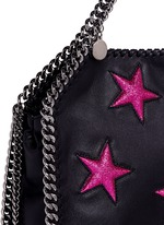 'Falabella' mini star appliqué two-way chain tote