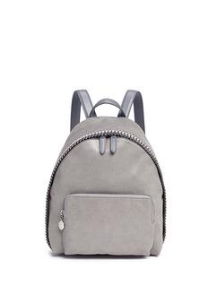 STELLA MCCARTNEY'Falabella' small shaggy deer backpack