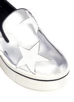 星星拼贴厚底便鞋
