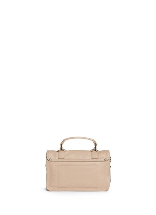 Back View - Click To Enlarge - Proenza Schouler - 'PS1 Fringe' tiny leather satchel