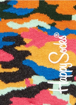Detail View - Click To Enlarge - Happy Socks - Camo low socks