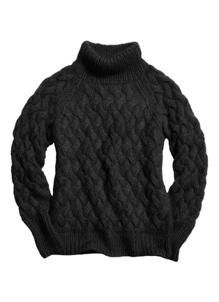 Main View - Click To Enlarge - Coach - x BLITZ mohair funnel neck sweater
