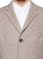 'Ludlow' topcoat in wool cashmere