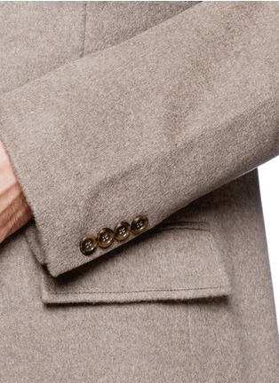 Detail View - Click To Enlarge - J.CREW - 'Ludlow' topcoat in wool cashmere