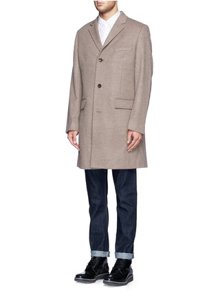Front View - Click To Enlarge - J.CREW - 'Ludlow' topcoat in wool cashmere