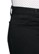 'Luxe Sateen' super skinny jeans