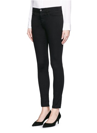 Front View - Click To Enlarge - J Brand - 'Luxe Sateen' super skinny jeans