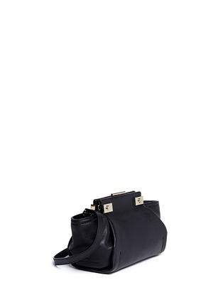 Detail View - Click To Enlarge - Lanvin - 'Trilogy' mini crossbody bag