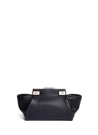 Back View - Click To Enlarge - Lanvin - 'Trilogy' mini crossbody bag
