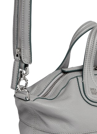 Detail View - Click To Enlarge - Givenchy - 'Nightingale' small leather bag